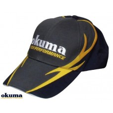 OKUMA GRAY COTTON CAP WİTH FİRE PATTERN ŞAPKA